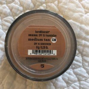 bareMinerals medium tan Original Foundation.